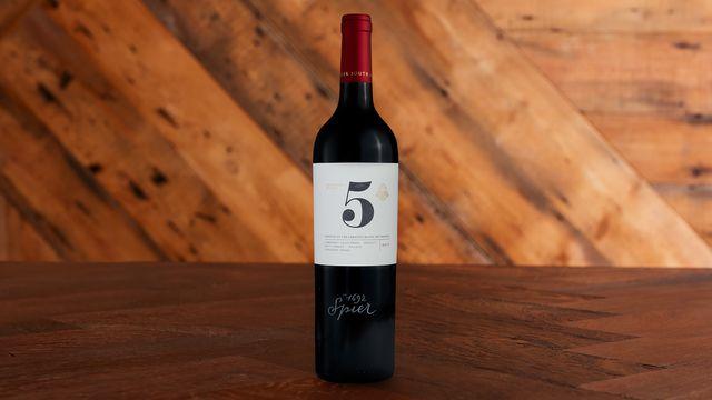 A bottle of Creative Block 5