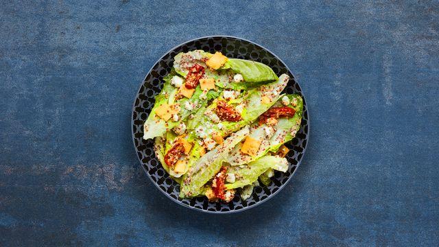 A bowl of Quinoa & Feta Salad